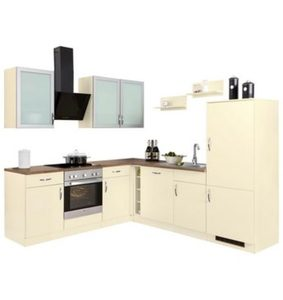 Wiho Küchen Winkelküche mit E-Geräten »Peru«, Stellbreite 220 x 245 cm