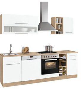 Held Möbel Küchenzeile mit E-Geräten »Eton«, Breite 240 cm
