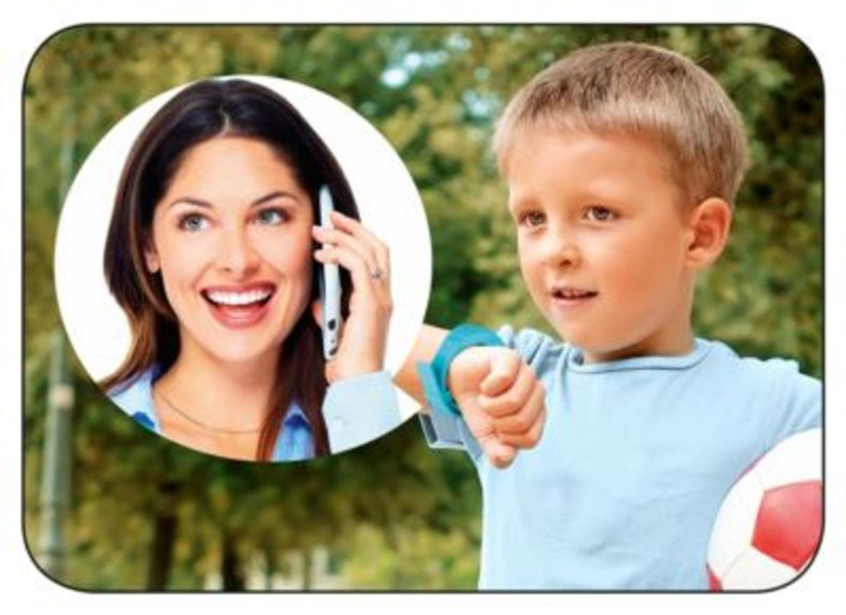 Bild 4 von Easymaxx Kids Smartwatch, blau