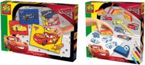 2in1 Set Mosaike legen und Stempeln - Cars 3
