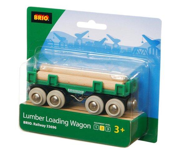 BRIO 33696 Langholzwagen