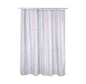 Home Duschvorhang mit durchbrochenem Streifenmuster, ca. 180x180cm