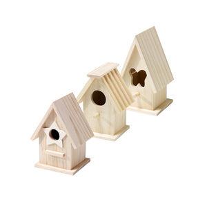 Vogelhaus aus Holz in verschiedenen Ausführungen