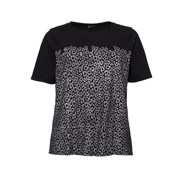 f153fc18b9ef21 Laura Torelli plus (Gr. 44-58) Damen-T-Shirt mit tollem Muster ...
