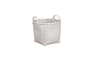 Kleine Wolke - Wäschebox Double Laundry in natur, 30 cm