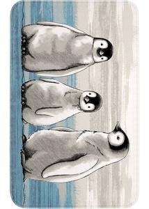 """Badematte """"Pingu"""", Memory Schaum"""