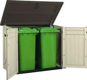 Garten-/ Mülltonnenbox