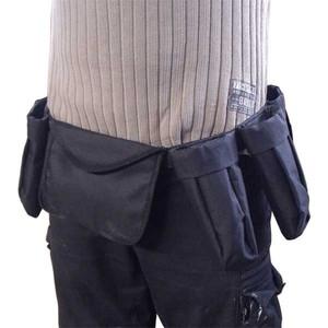 Nylon-Faser Werkzeug Gürtel Satz mit 6 Taschen