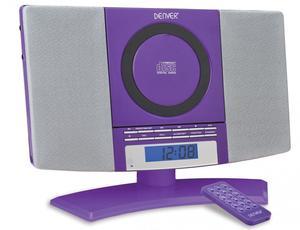 Denver MC-5220 lila Stand CD Player