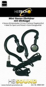 Heitech Stereo-Clip-Ohrhörer
