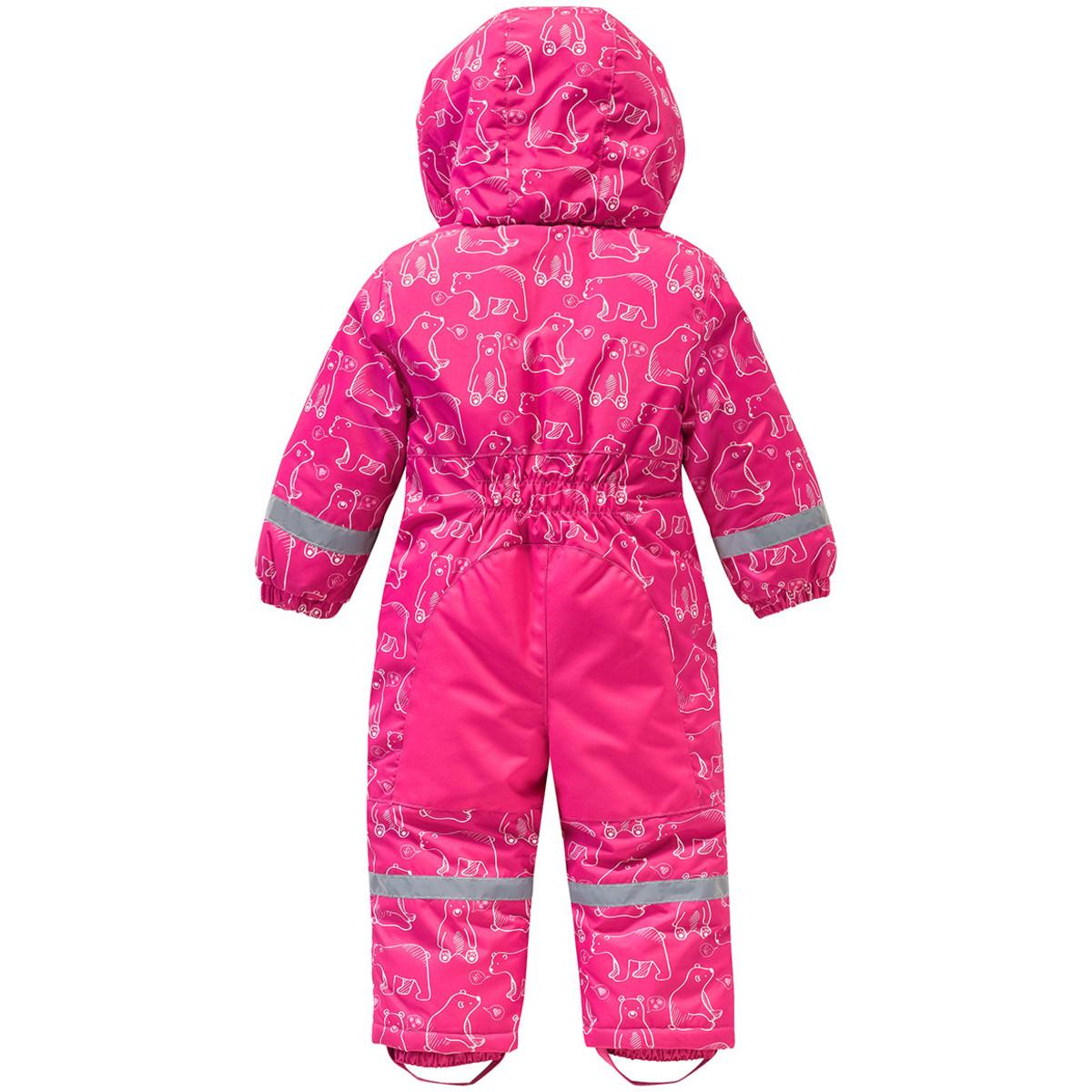 Bild 2 von Baby Schneeoverall mit Kapuze