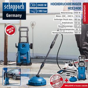 Scheppach Hochdruckreiniger HCE 2400