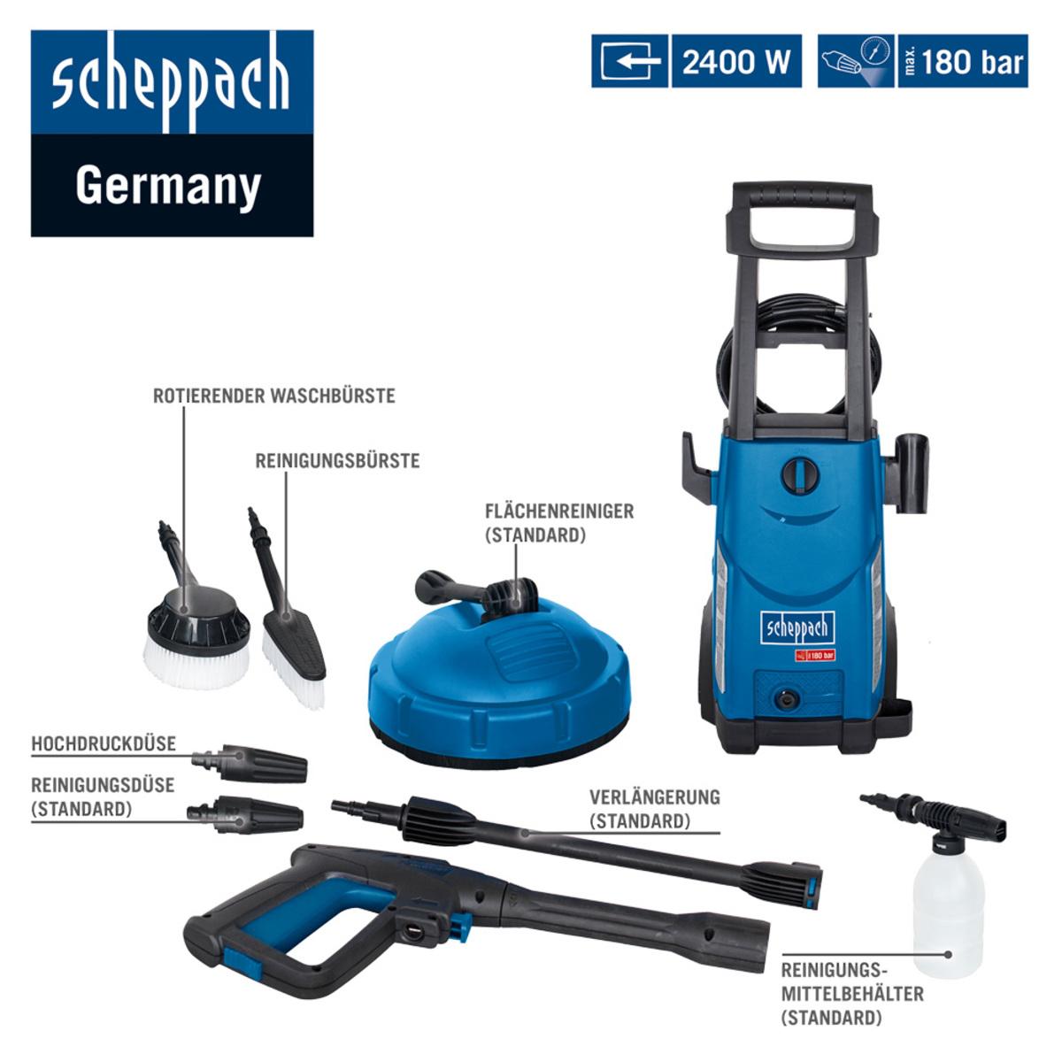 Bild 2 von Scheppach Hochdruckreiniger HCE 2400