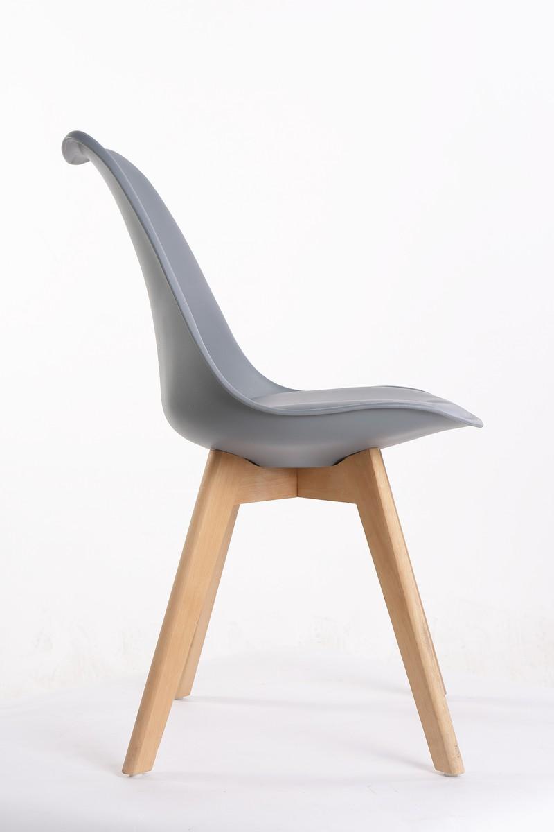 Bild 3 von Happy Home 4er Set Stühle HEH01-GRA