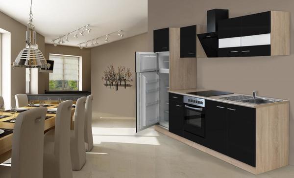respekta Economy Küchenblock 270 cm, schwarz von Norma für 1.049 ...