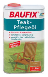 Baufix Teak-Pflegeöl, Farblos