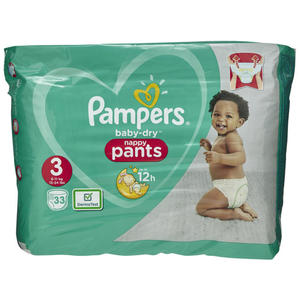 Pampers Baby Dry Pants Gr. 3, 6-11 kg