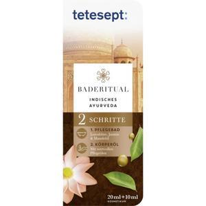 "tetesept Baderitual ""Indisches Ayurveda´´ 8.30 EUR/100 ml"