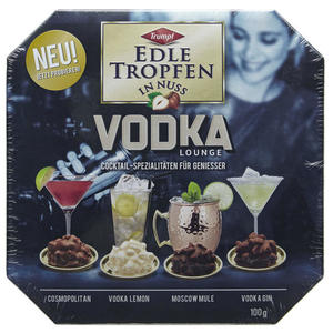 Trumpf Edle Tropfen in Nuss Vodka Lounge