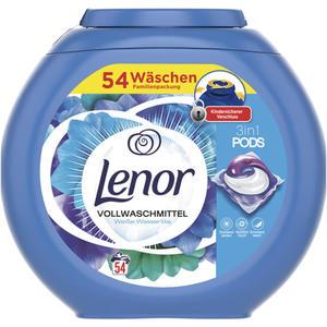 Lenor 3in1 PODS Vollwaschmittel Weiße Wasserlilie 54 WL 0.19 EUR/1 WL