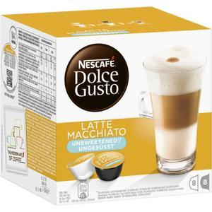 Nescafé Dolce Gusto Kapseln ´´Latte Macchiato´´ ungesüsst 2.85 EUR/100 g