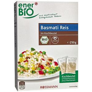 enerBiO Bio Basmati Reis im Kochbeutel 2.29 EUR/250 g
