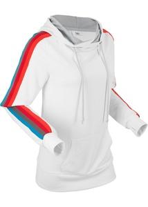 Leichtes Langarm-Sweatshirt mit Multicolor-Tape