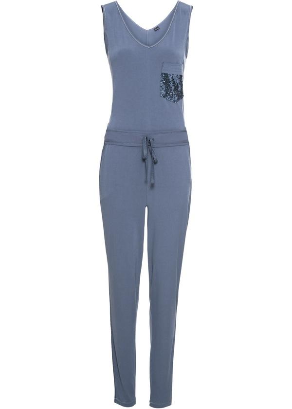 heiß-verkaufender Fachmann Schlussverkauf Qualität und Quantität zugesichert Jersey-Jumpsuit mit Paillettentasche