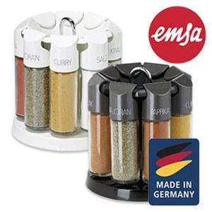Gewürzkarussell - 8 Qualitätsgewürze von deutschem Hersteller - Aromasafe-Verschluss und praktischem Streusieb