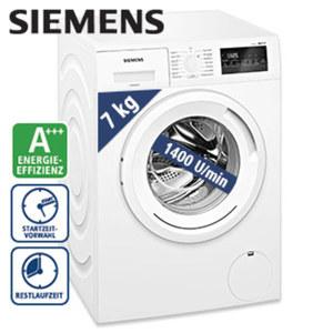 Waschautomat WM14N2M1 iQ300 A+++ · Spezialprogramme: Dessous, Outdoor, Hygiene, Hemden/Business · Maße: H 84,8 x B 59,8 x T 55,0 cm · Energie-Effizienz A+++ (Spektrum: A+++ bis D)