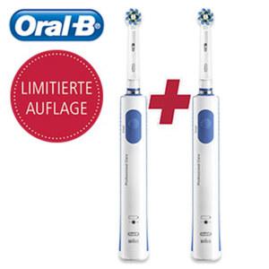 Zahnbürste PRO 690  Limitierte Edition · entfernt bis zu 100 % mehr Plaque als eine herkömmliche Handzahnbürste · 8.800 Rotationen und 20.000 Pulsationen/min · 2-min-Professional-Timer (von Zah