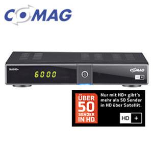 HDTV-Sat-Receiver SL65HD+ PVRready Aufnahme-Funktion über USB (PVRready), 4-stelliges Display, EPG, HDMI-/USB-/Ethernet-Anschluss, Smartcard-Reader, inkl. HD+-Karte (frei empfangbar für 6 Monate)