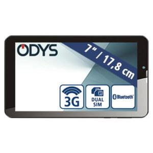 Multimedia-Tablet-PC Pyro 7 + 3G · Quad-Core-Prozessor (bis zu 1,3 GHz) · 2 Kameras (0,3 MP/2 MP) · microSD™-Slot bis zu 32 GB · Andorid™ 8.1