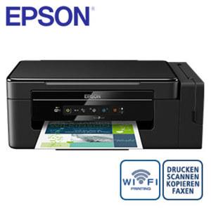 3-in-1-Multifunktionsgerät Eco Tank ET-2600 · kabellos Drucken über WLAN · kostengünstige Einzeltinten