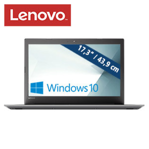 Notebook Ideapad 320-17ABR · HD+ Display · AMD A12-9720P (bis zu 3,6 GHz) · AMD Radeon™ R7 Grafik · USB 3.0
