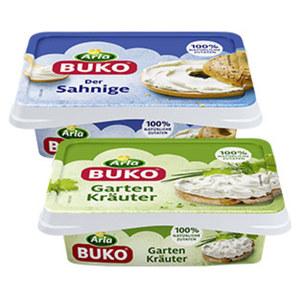 Arla Buko Dänische Frischkäsezubereitung, 70 % Fett i. Tr./18 % Fett absolut, versch. Sorten, 200-g-Packung, ab 2 Packungen je