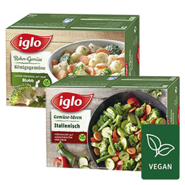 Iglo Gemüse-Ideen Italienisch gefroren,  jede 480-g-Packung und weitere Sorten