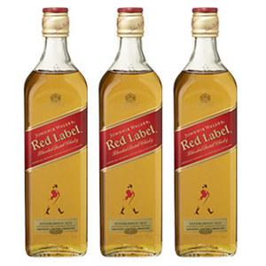 Johnnie Walker Red Label 40 % Vol.,  jede 0,7-l-Flasche, ab 3 Flaschen je