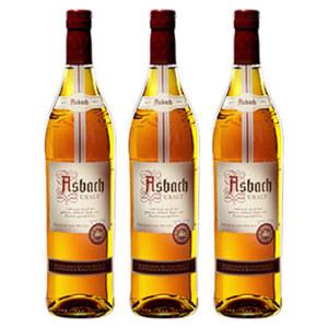 Asbach Uralt 38 % Vol.,  jede 0,7-l-Flasche, ab 3 Flaschen je