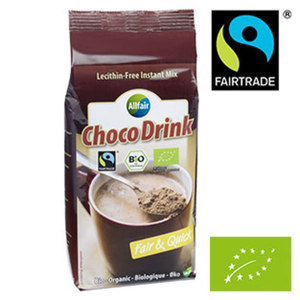 ALLFAIR Bio Choco Kakao jede 400-g-Dose