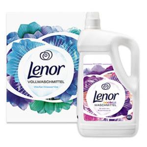 Lenor Waschmittel 60 Waschladungen, versch. Sorten, jede Packung/Flasche
