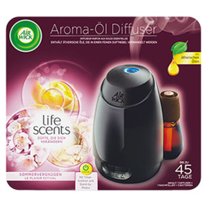 Airwick Aroma-Öl Diffuser 20 ml, jede Packung