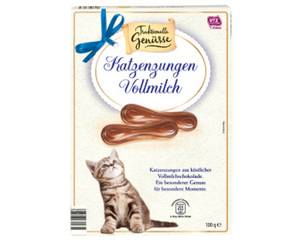 Traditionelle Genüsse Katzenzungen