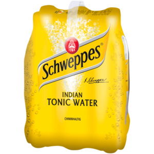 Schweppes Indian Tonic Water 6x1,25l