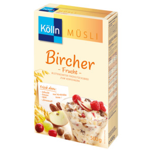 Kölln Müsli Bircher Frucht 500g