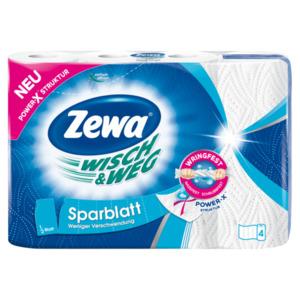 Zewa Wisch & Weg Sparblatt 4x74 Blatt