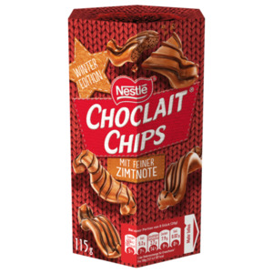 Nestle Choclait Chips Zimt 115g