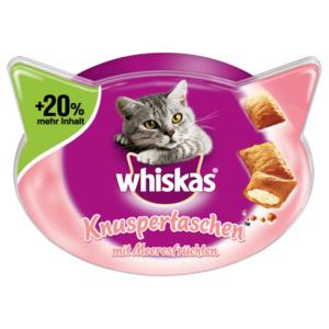 Whiskas Katzenfutter Knuspertaschen mit Meeresfrüchten 72g