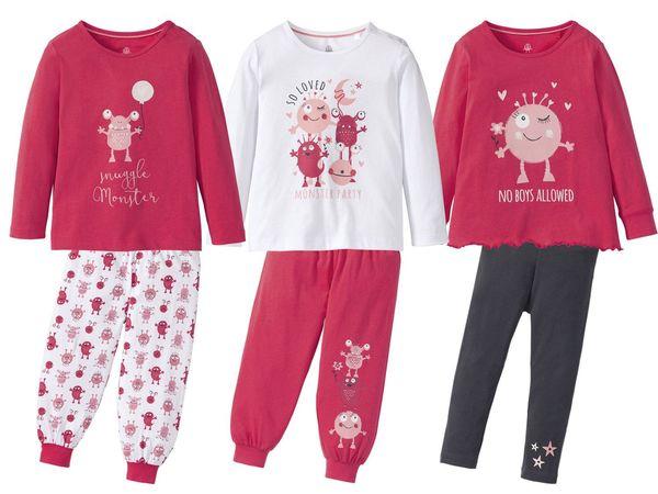LUPILU® Kleinkinder Mädchen Schlafanzug