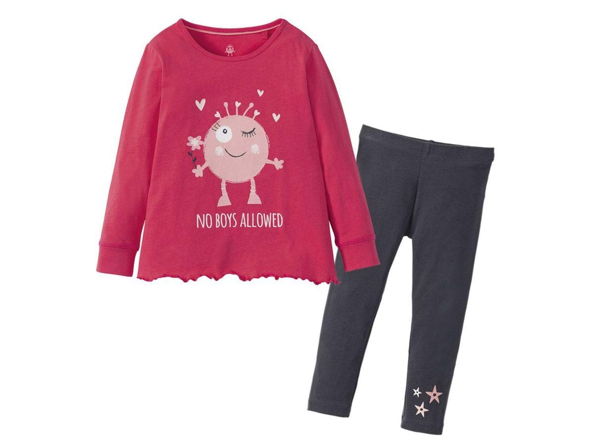 Bild 2 von LUPILU® Kleinkinder Mädchen Schlafanzug